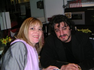 Fiona with Jose Cura