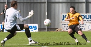 Dumbarton v Elgin City 02.05.09