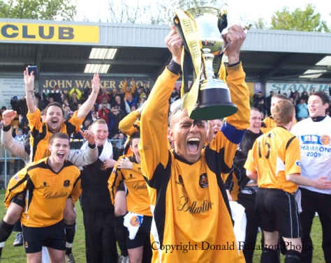 Dumbarton v Annan Athletic 09.05.09