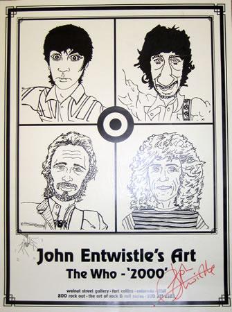 John Entwistle's Art The Who 2000
