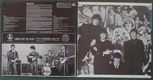 Beatles for sale gatefold
