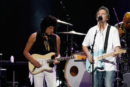 clapton and beck