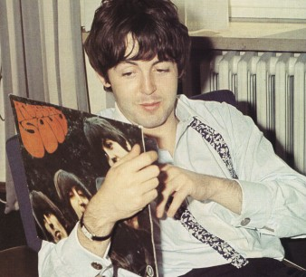 Paul with Rubber Soul