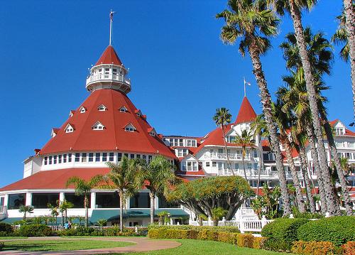 coronado hotel exterior
