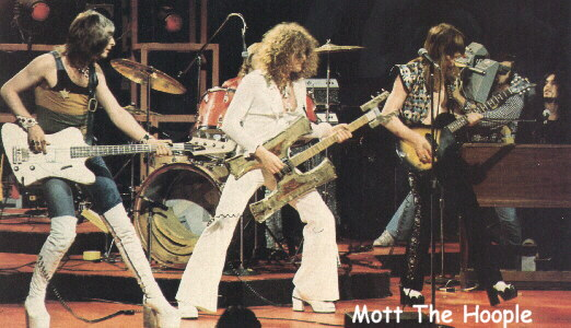 Mott The Hoople - Mott The Hoople Live